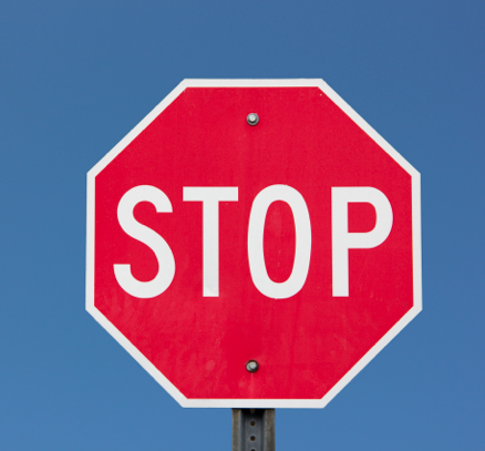 A stop sign mean stop, right? Until it doesn't.