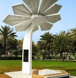 This is the first of a new breed of palm tree sprouting in Dubai: the Smart Palm station offers free Wi-Fi, eight phone and tablet charging points, two information screens (with weather info, news, etc), and a selfie camera! You'll find this one at Zabeel Park, with more to follow at other Dubai parks.